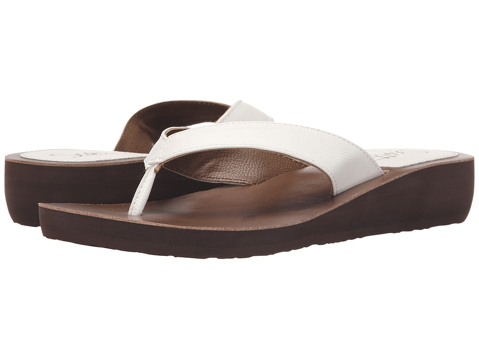 Scott Hawaii - Mahie (White) Women's Sandals