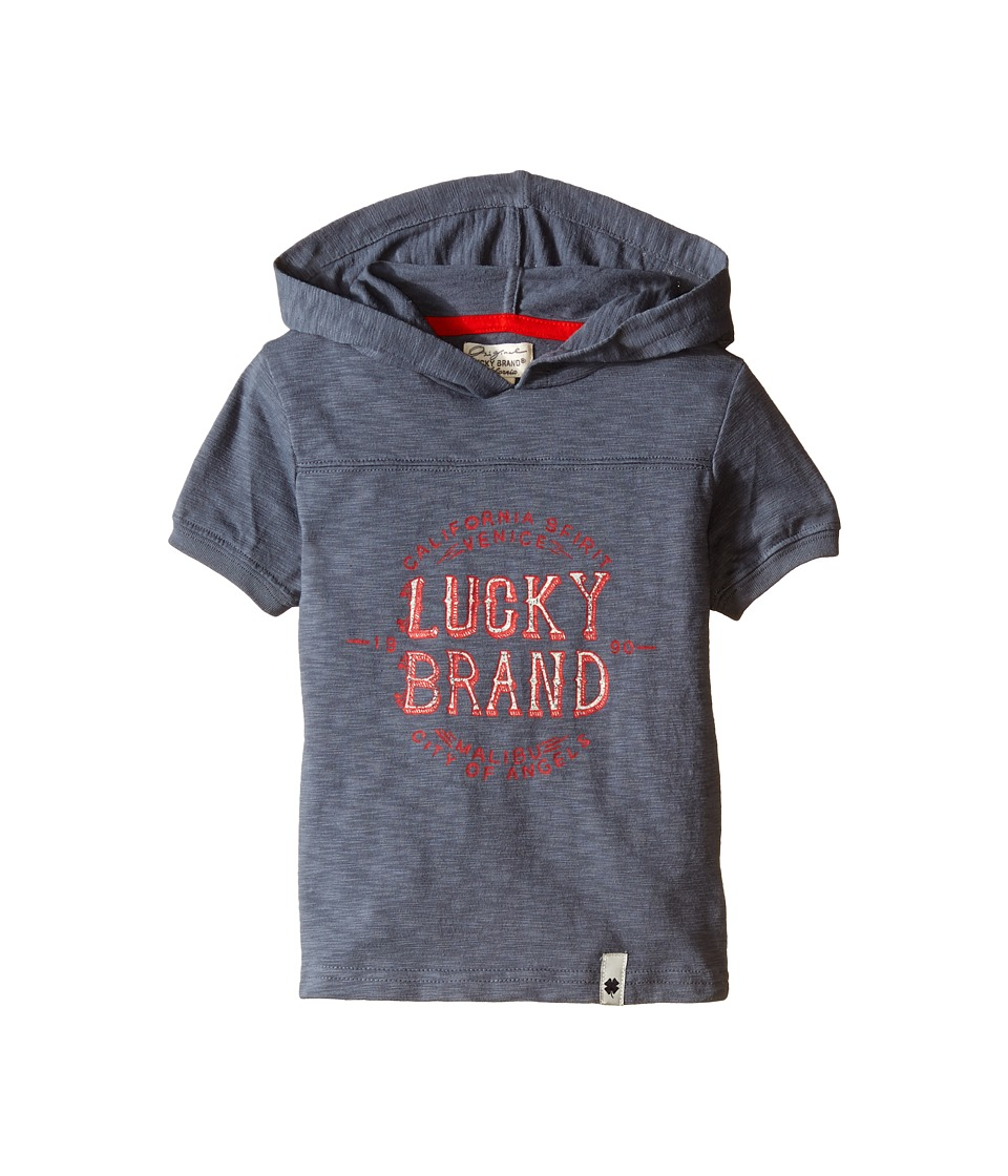Lucky Brand Kids - Malibu Hoodie (Toddler) (Medium Steel) Boy's Clothing