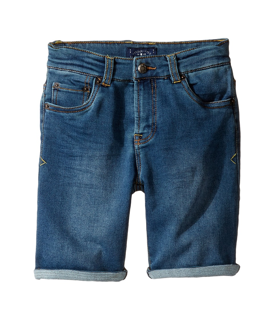 Lucky Brand Kids - Indigo Knit Shorts (Little Kids/Big Kids) (Dark Wash) Boy's Shorts