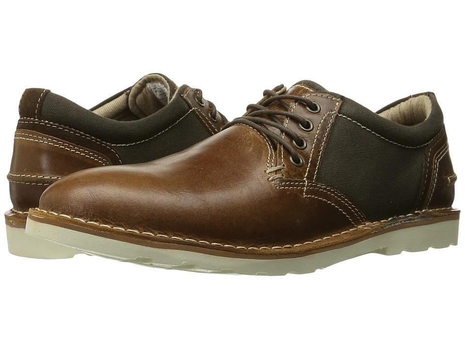 Steve Madden - Influx (Cognac Multi) Men's Lace up casual Shoes