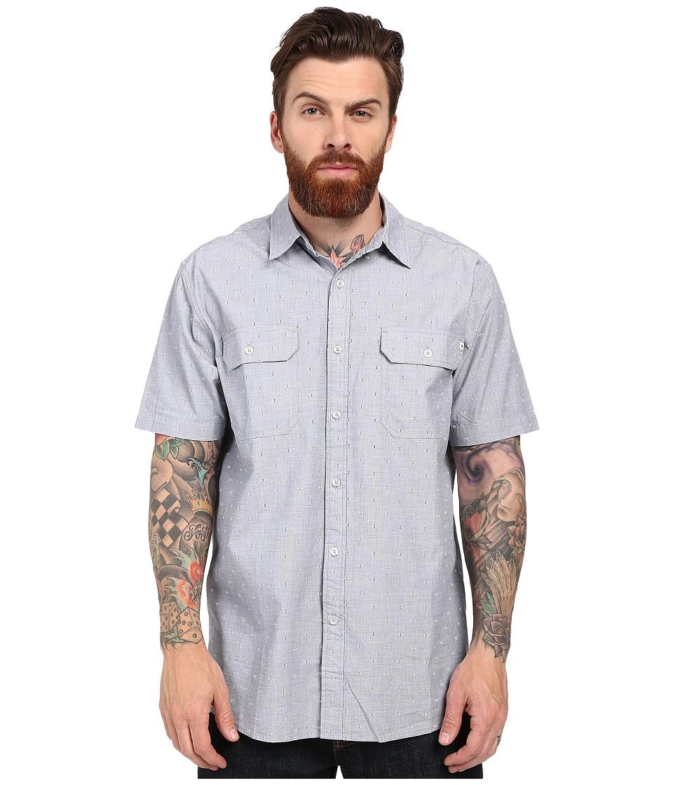 Rip Curl - Genome Short Sleeve Shirt (Darkside) Men's Clothing
