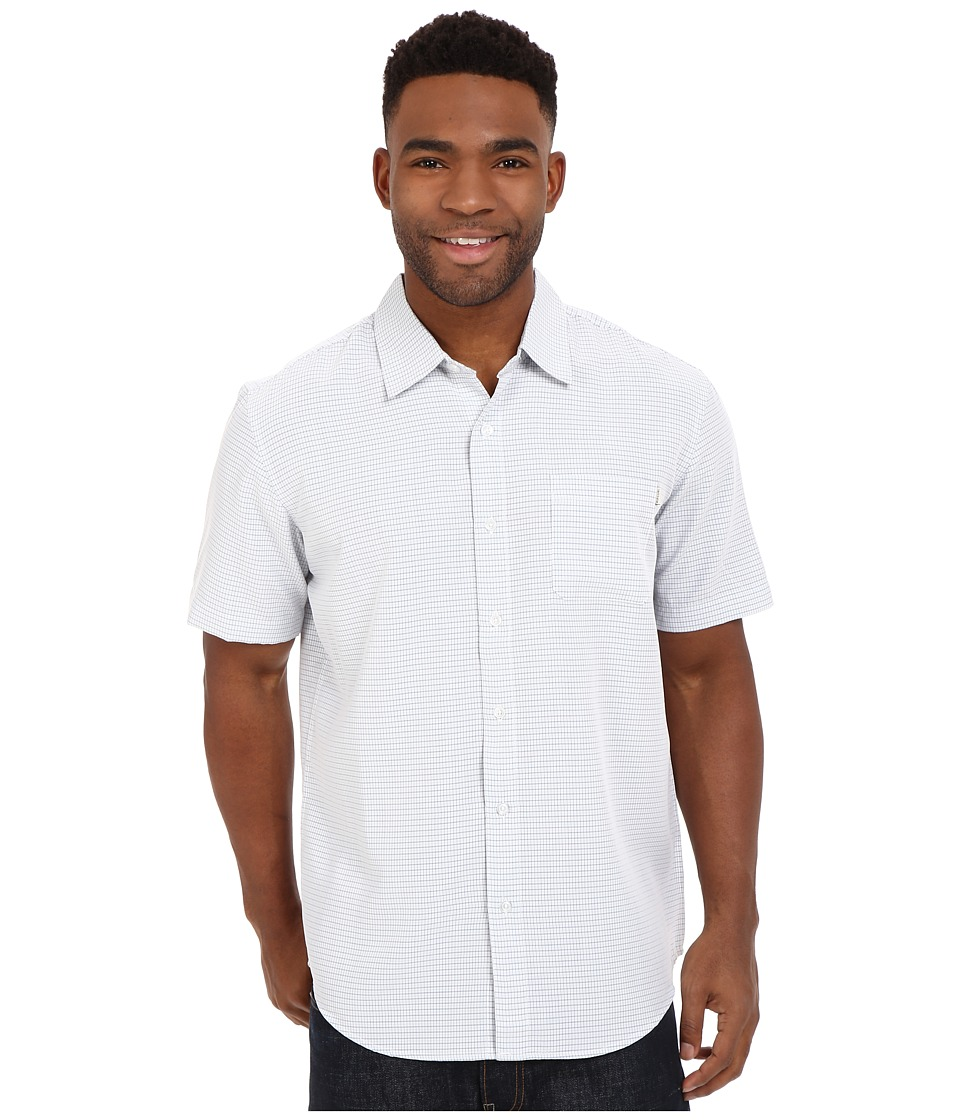 Rip Curl - Cross Step Short Sleeve Shirt (Off-White) Men's Short Sleeve Button Up