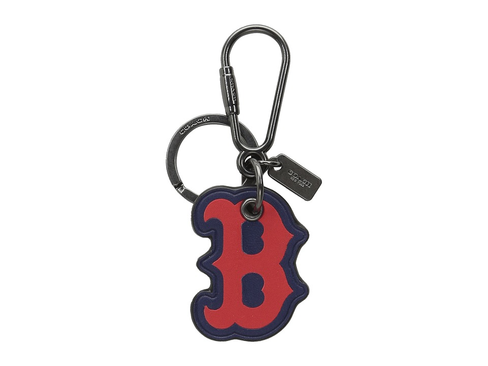 COACH - MLB Key Fob (Bos Red Sox) Wallet