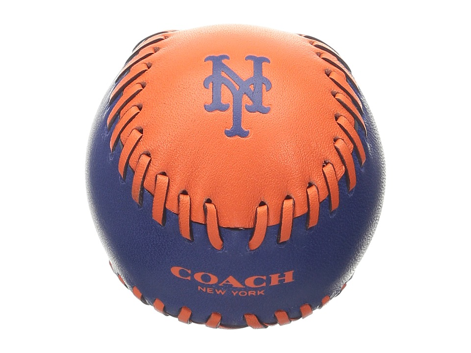 COACH - MLB Paperweight (Ny Mets) Wallet