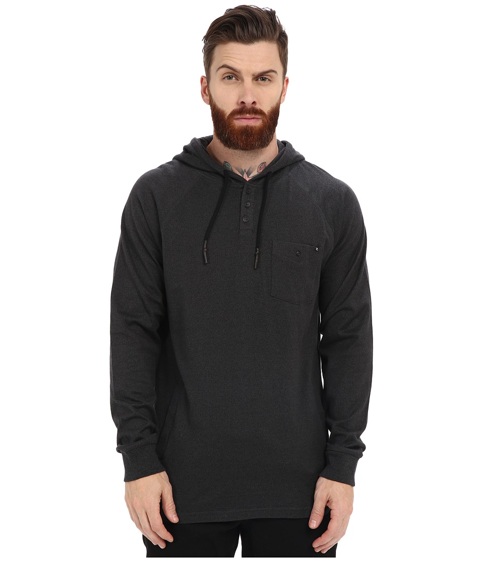 Rip Curl - Dirty Bird Long Sleeve Pullover (Charcoal) Men's Sweatshirt