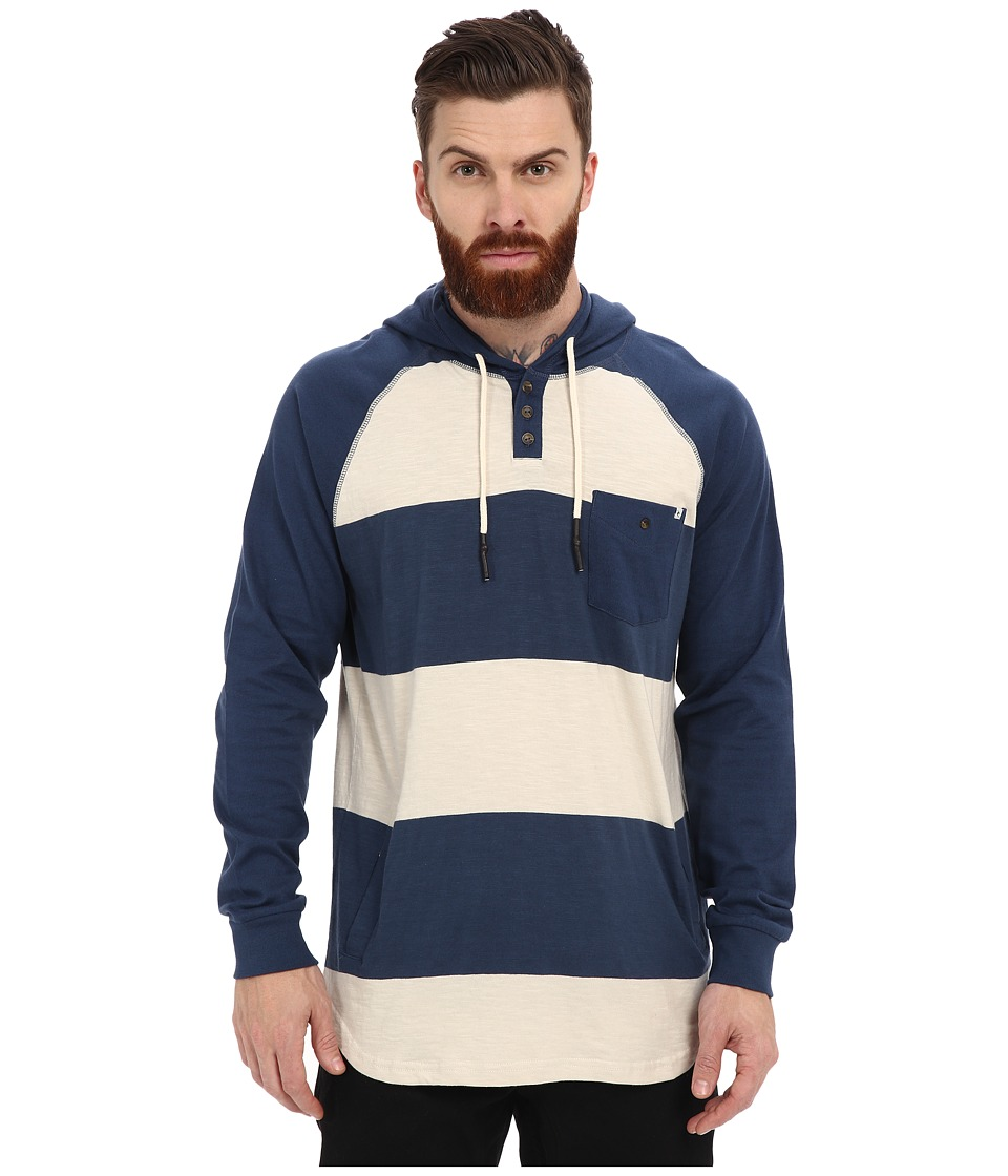 Rip Curl - Dirty Bird Long Sleeve Pullover (Navy) Men's Sweatshirt