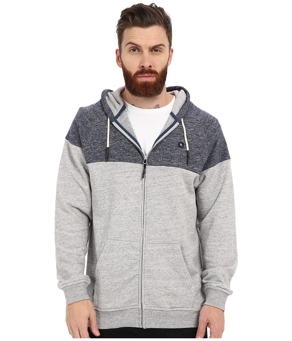 Rip Curl - Patrol Fleece (Grey) Men's Fleece