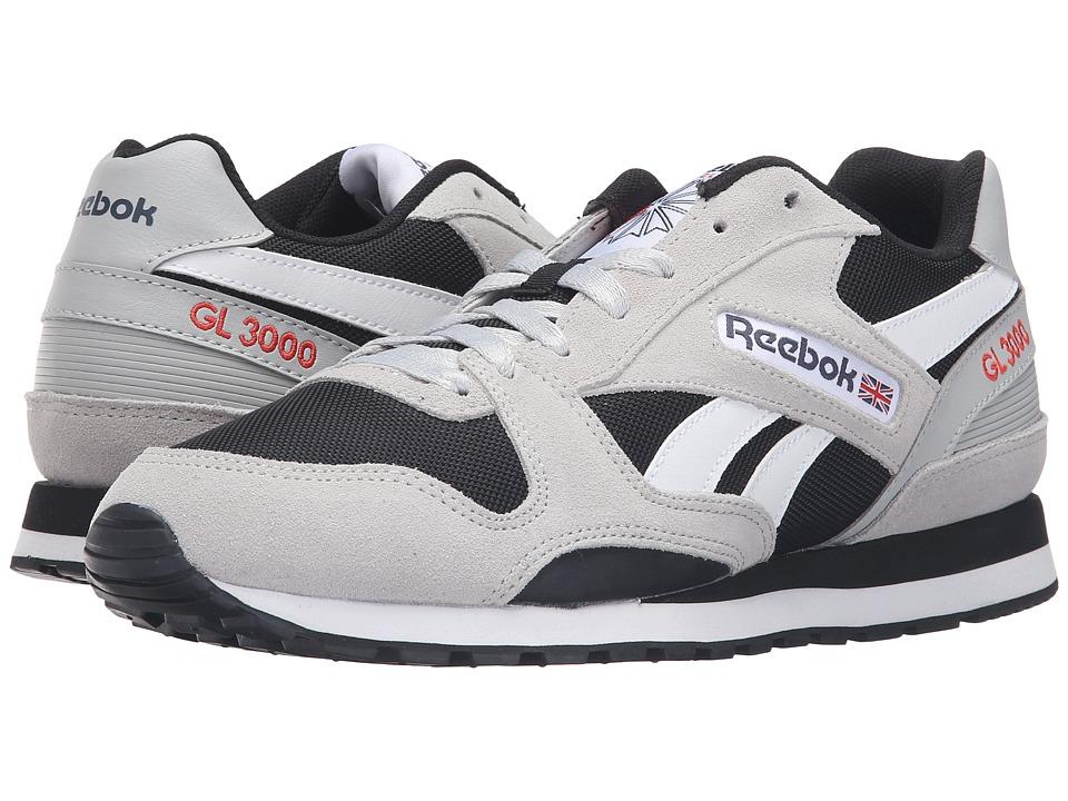 Reebok - GL 3000 (Skull Grey/Black/Blue Ink/Riot Red/White) Men's Classic Shoes
