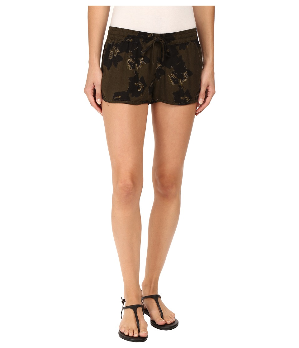 Hurley - Beachrider Woven Shorts (Cargo Khaki) Women's Shorts