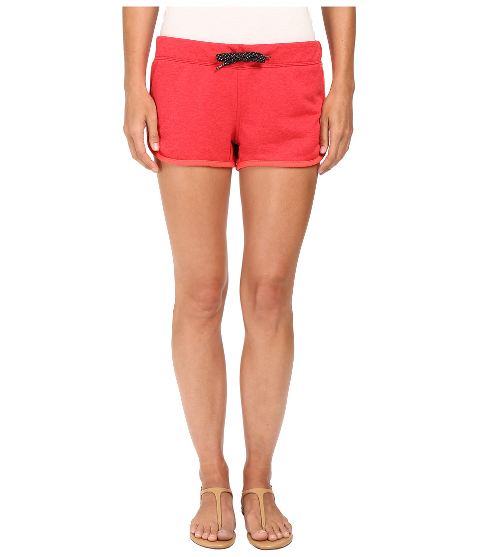 Hurley - Dri-FIT Fleece Beachrider Shorts (Heather Gym Red) Women's Shorts