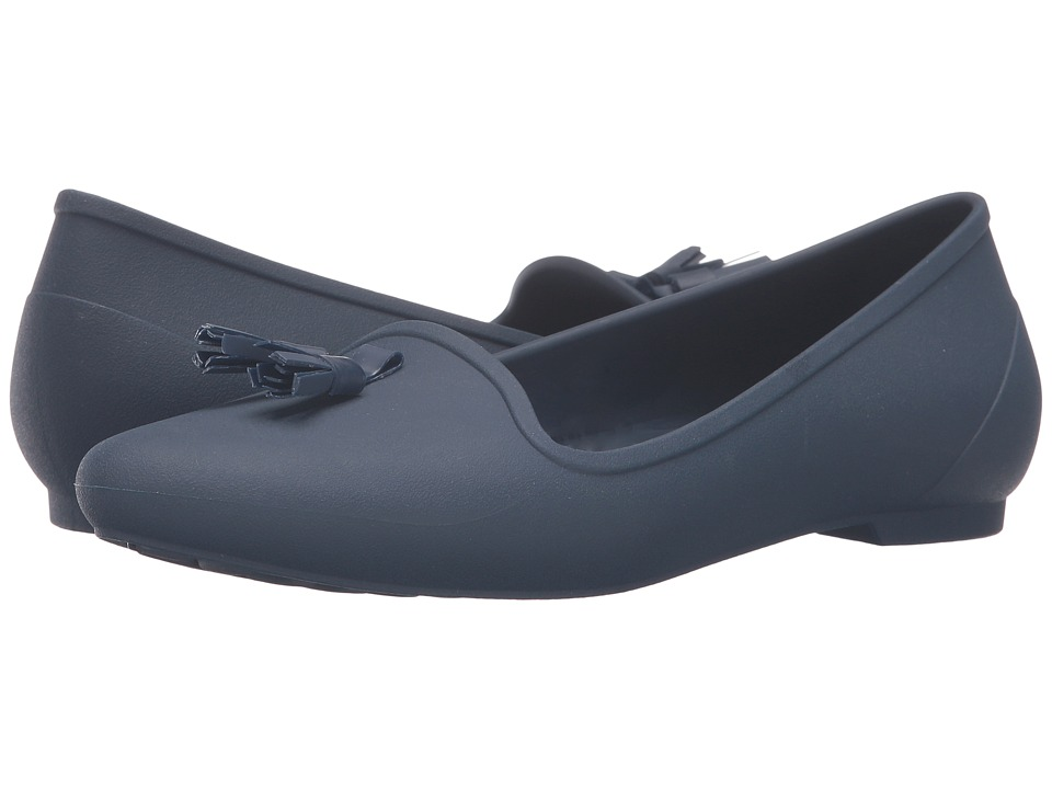 Crocs Eve Embellished Flat (Navy) Women