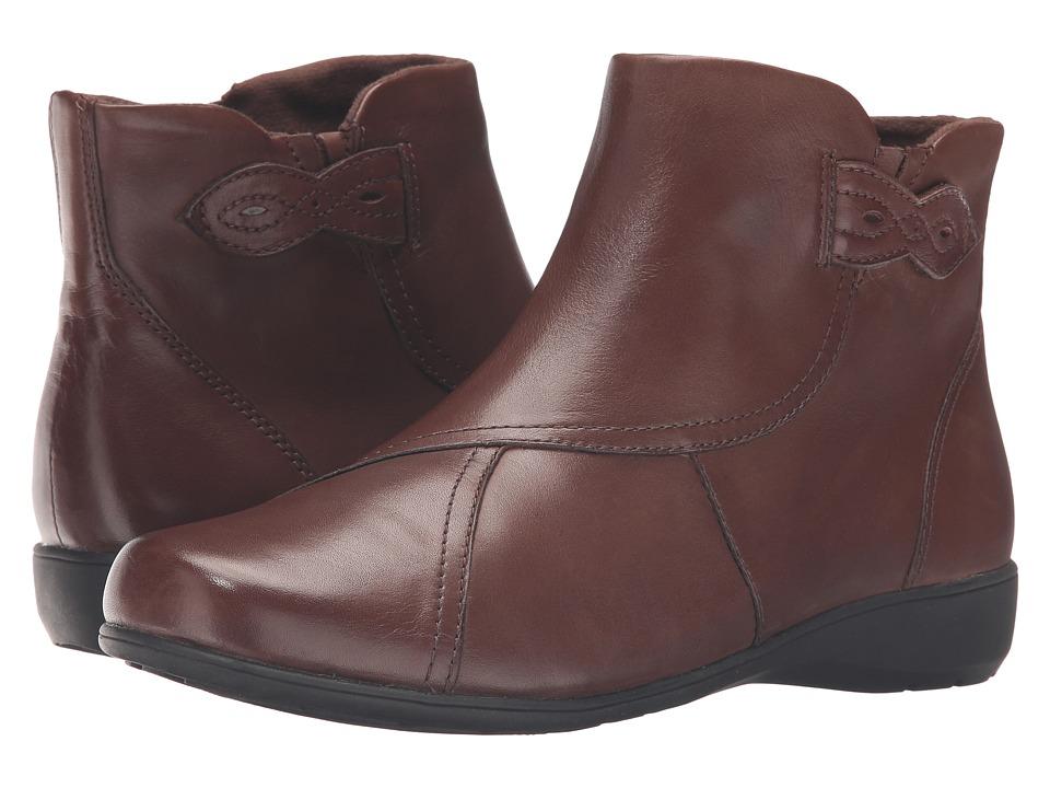 Image of Aravon - Anstice-AR (Brown) Women's Zip Boots