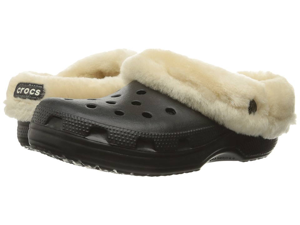 Crocs - Classic Mammoth Luxe (Black) Clog Shoes