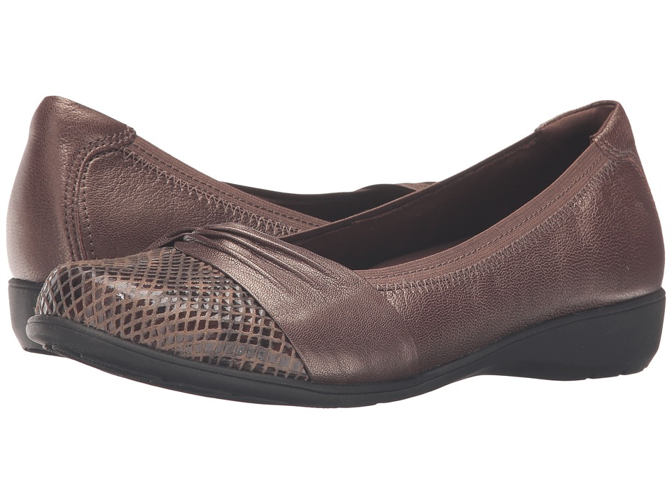 Aravon AndreaAR Bronze Womens Slip on Shoes