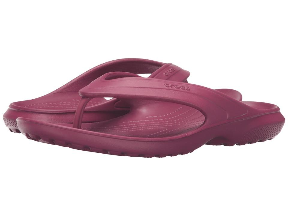 Crocs Classic Flip (Pomegranate) Slide Shoes