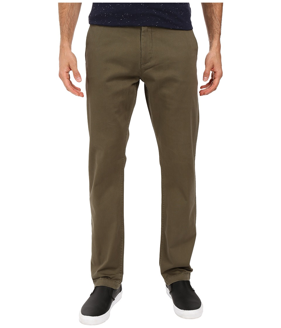 Dockers Men's - Washed Khaki Slim Tapered (Dockers Olive) Men's Casual Pants