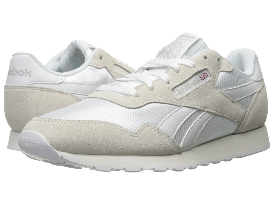 Reebok Royal Nylon (White/White/Steel) Men