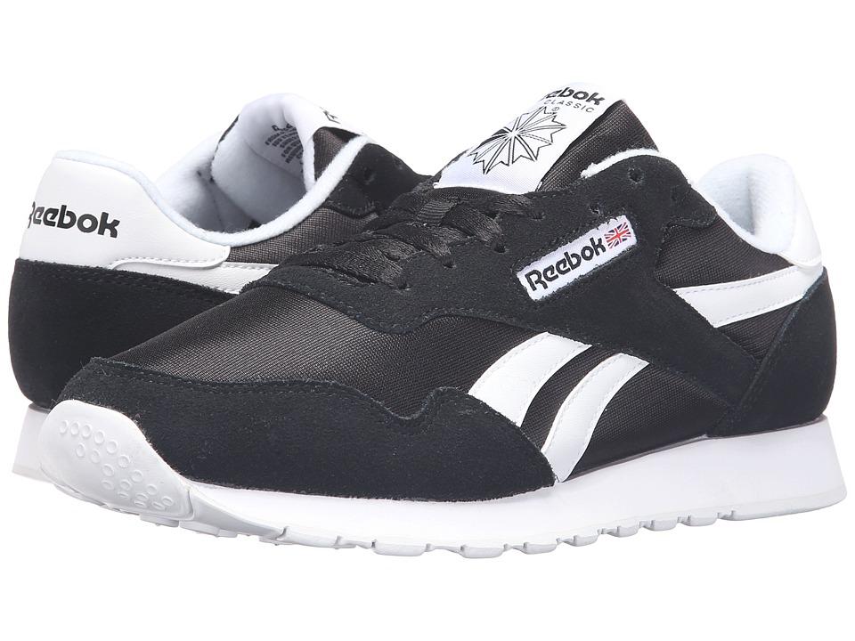Reebok - Royal Nylon (Black/Black/White) Men's Shoes