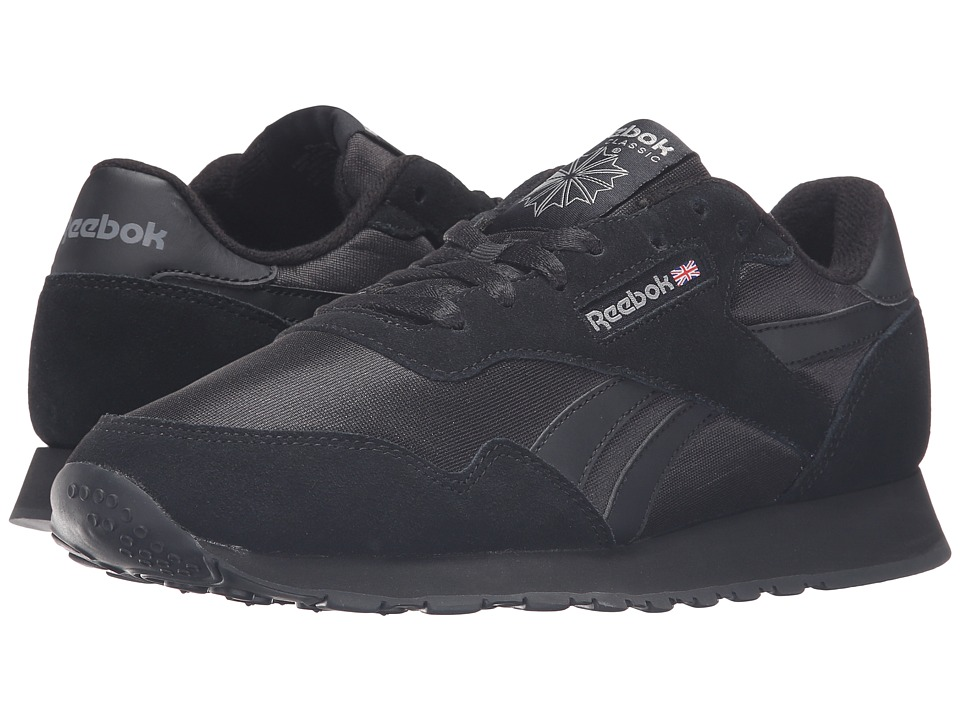 Reebok Royal Nylon (Black/Black/Carbon) Men