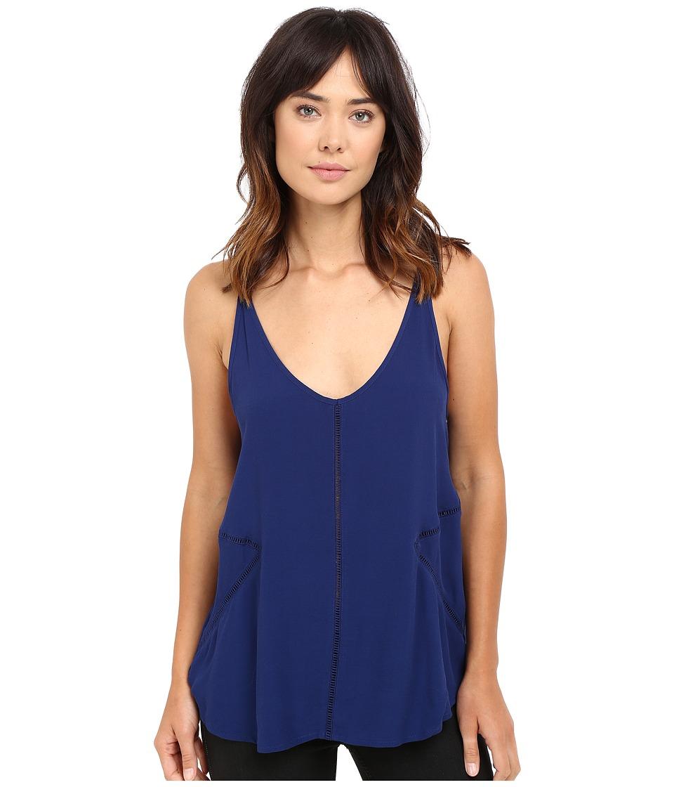 Hurley - Santos Tank Top (Loyal Blue) Women's Sleeveless