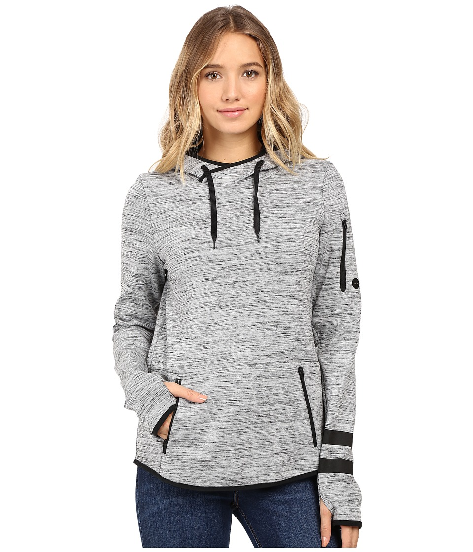 Hurley - Phantom Pullover (Dark Grey Heather) Women's Long Sleeve Pullover