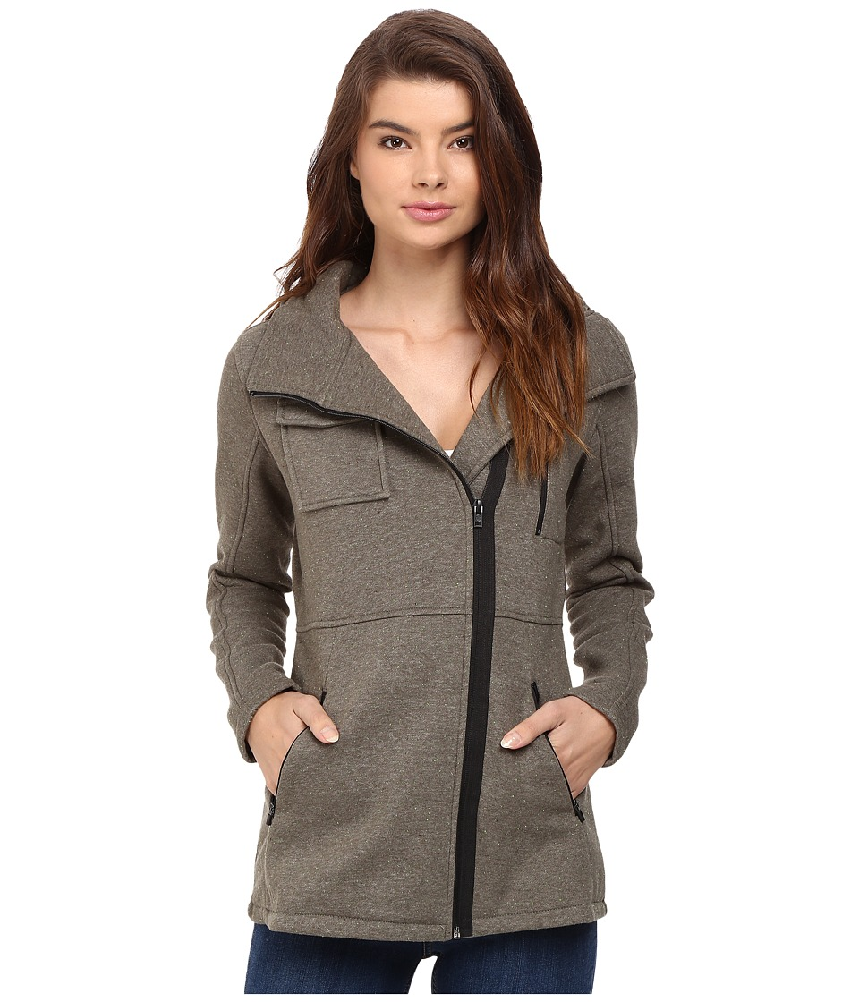 Hurley - Winchester Fleece (Heather Cargo Khaki) Women's Coat