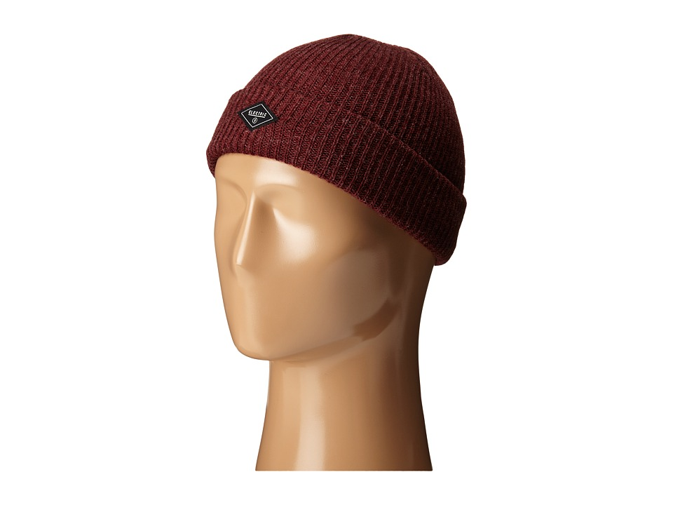 Electric Eyewear - Polk (Burgundy Heather) Caps