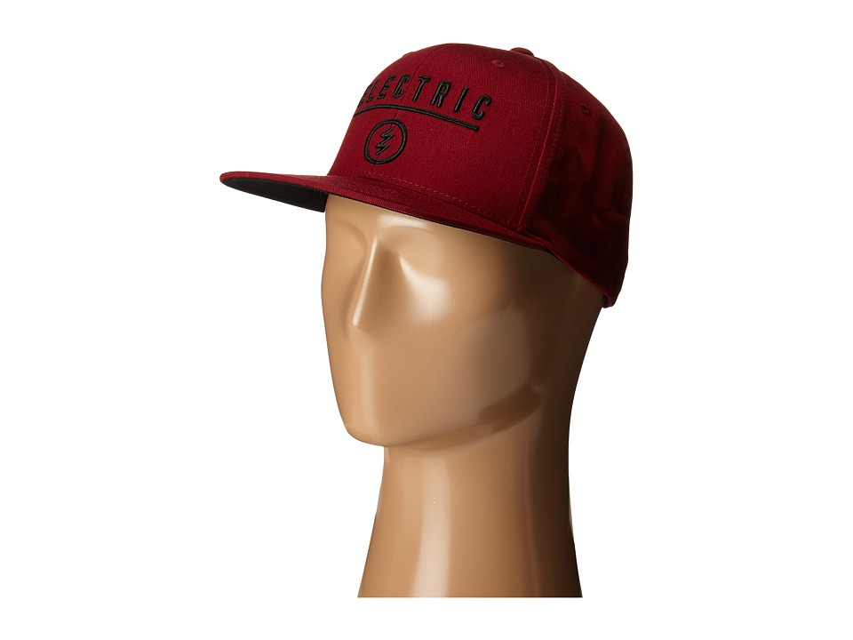 Electric Eyewear - Identity Corp (Burgundy) Caps