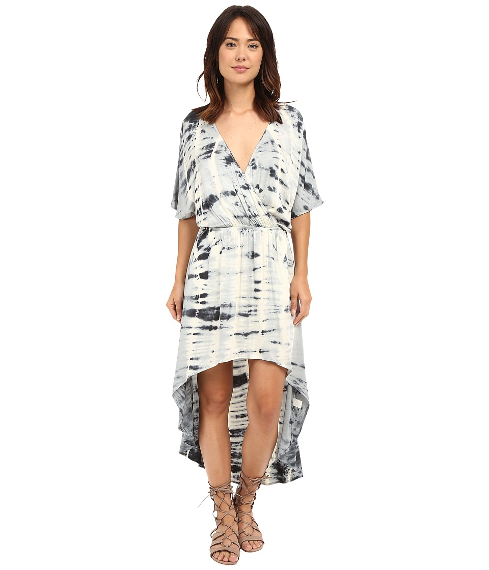Gypsy05 - Dolman High-Low Tulip Dress (Smoke) Women's Dress