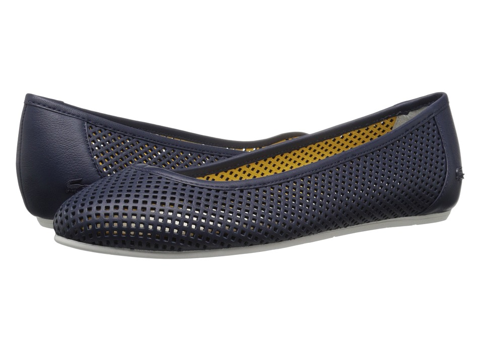 Lacoste - Cessole 216 1 (Navy) Women's Flat Shoes