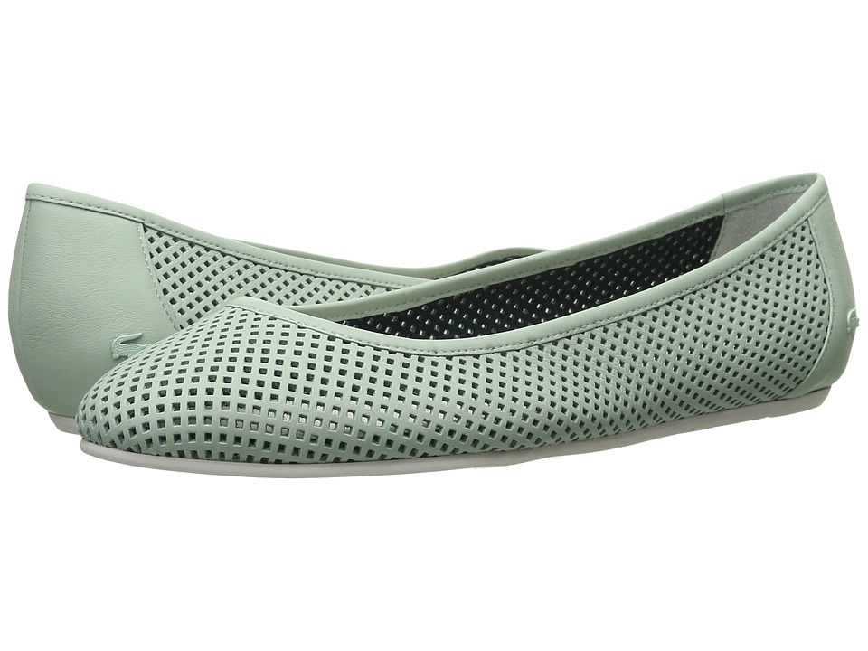 Lacoste - Cessole 216 1 (Light Green) Women's Flat Shoes