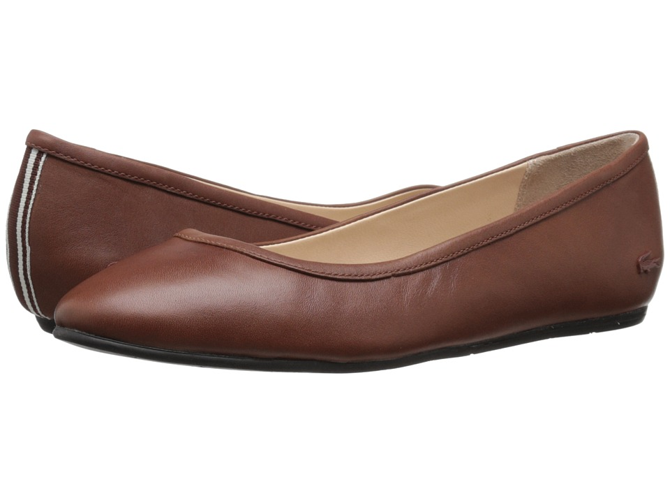 Lacoste - Cessole 4 (Brown) Women's Flat Shoes