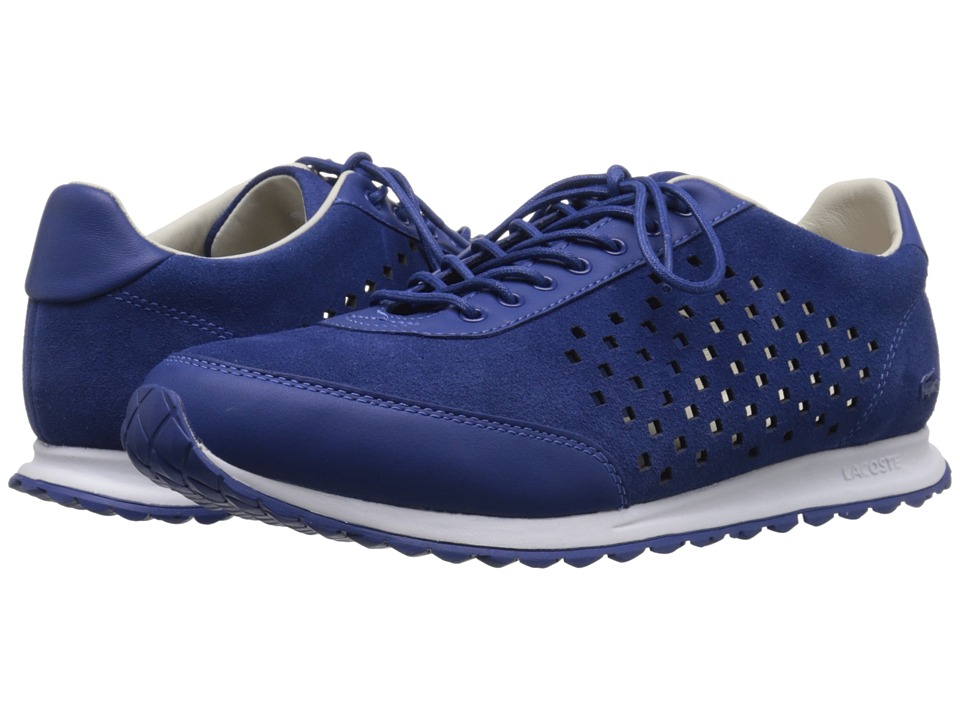 Lacoste - Helaine Runner 216 1 (Blue) Women's Lace up casual Shoes