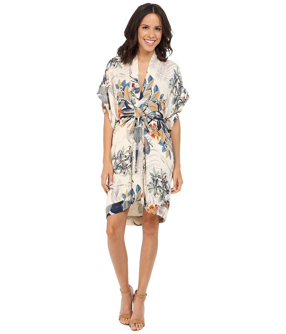 Brigitte Bailey - Anara Waist-Tie Kimono Dress (Multi) Women's Dress