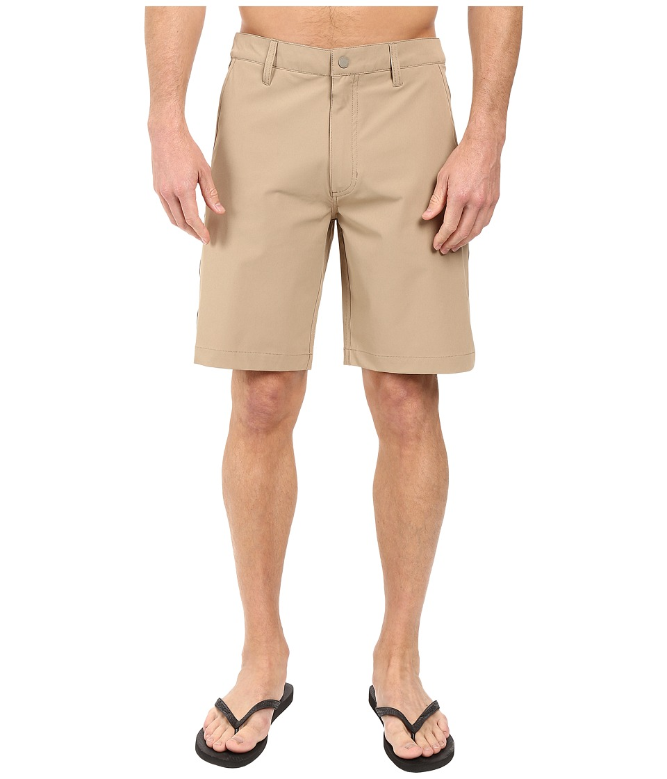 Quiksilver Waterman - Vagabond 2 Amphibian Short (Chinchilla) Men's Shorts