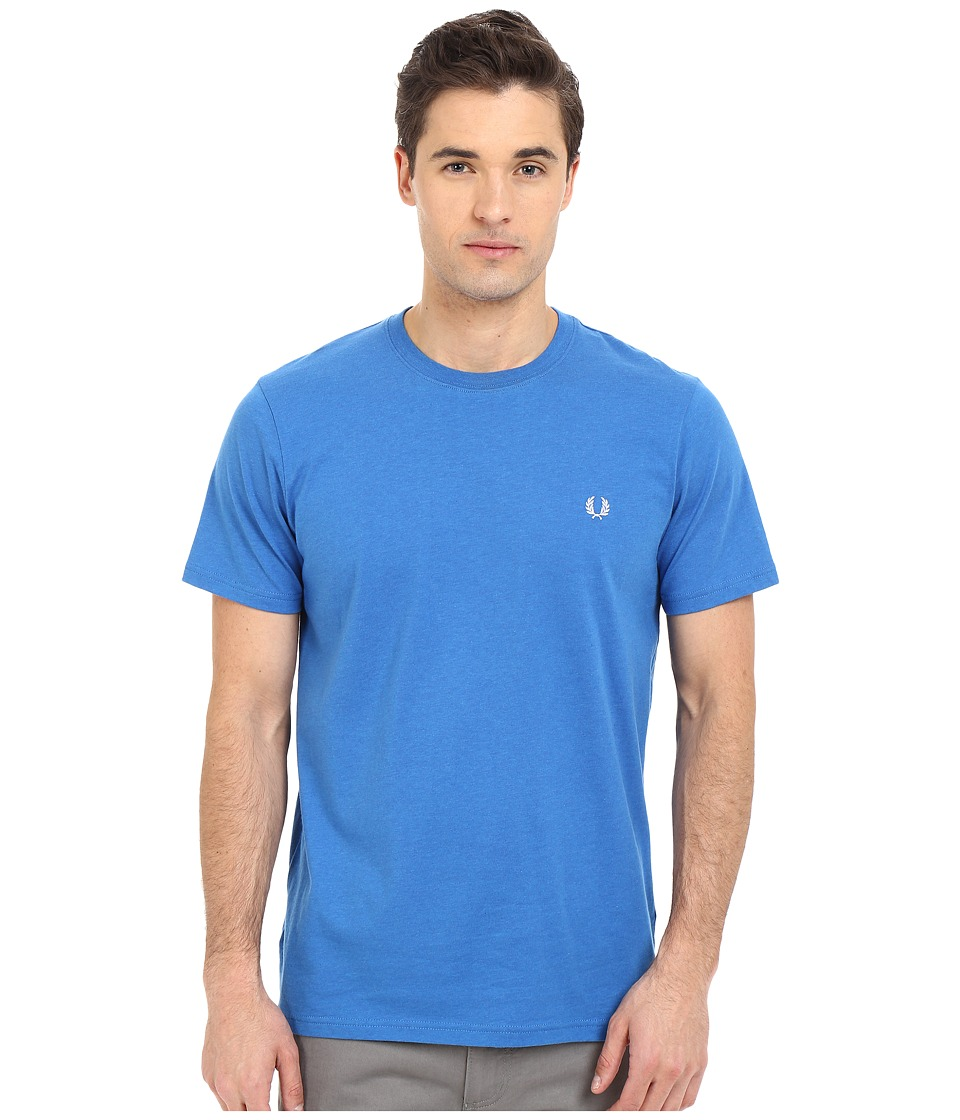 Fred Perry - Crew Neck T-Shirt (Prince Blue Marl) Men's T Shirt
