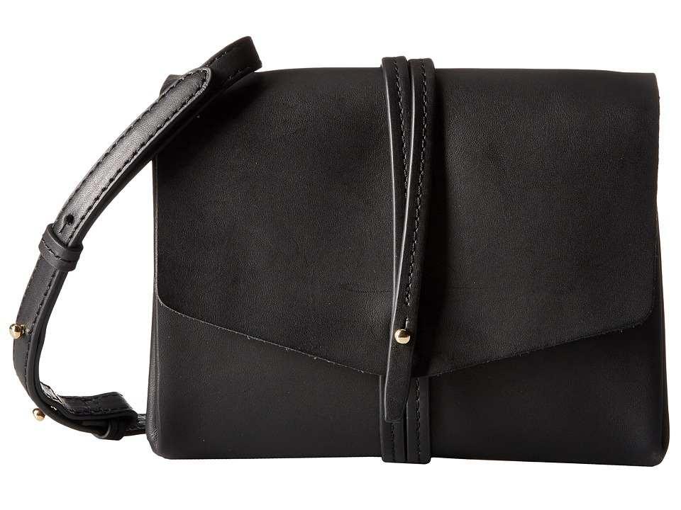 Vince Camuto - Tuck Crossbody (Black) Cross Body Handbags