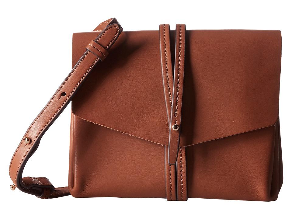 Vince Camuto - Tuck Crossbody (Whiskey) Cross Body Handbags