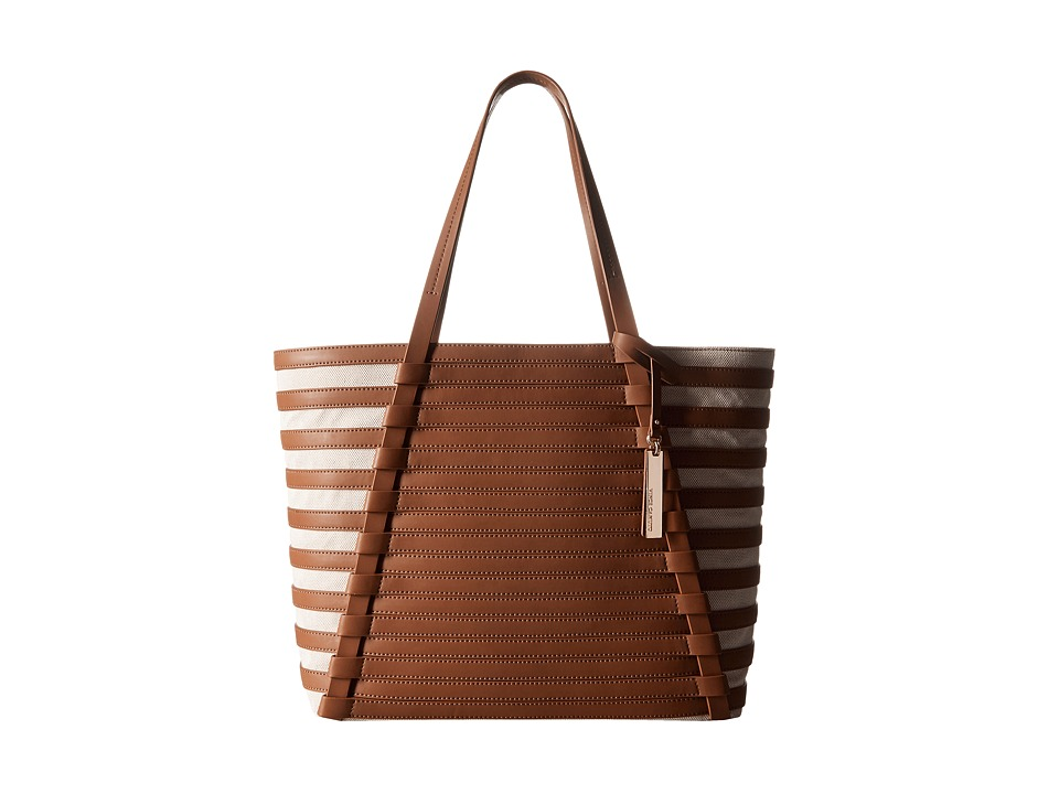 Vince Camuto - Vana Tote (Whiskey/Natural) Tote Handbags