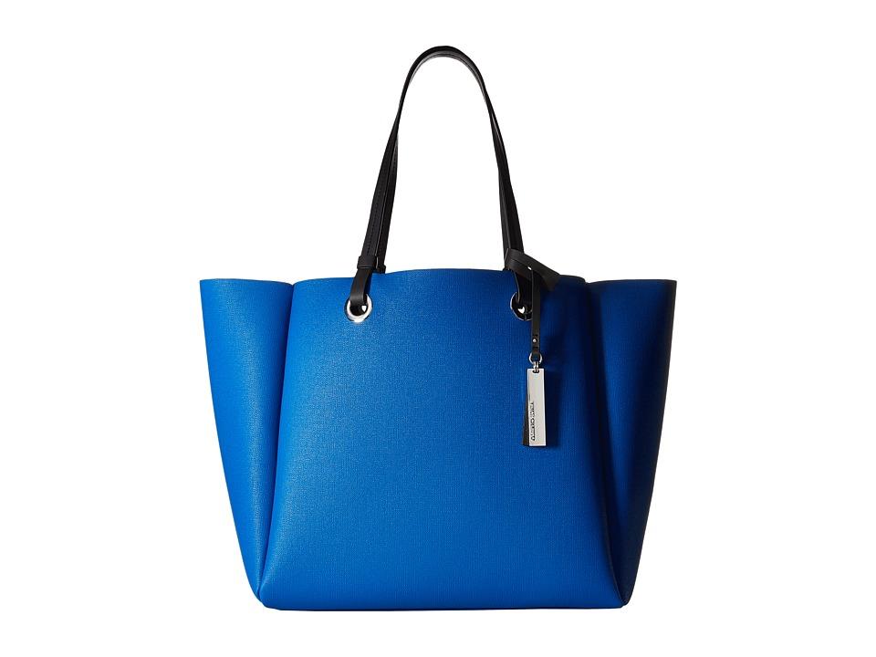 Vince Camuto - Nina Tote (Capri Blue/Graphite) Tote Handbags