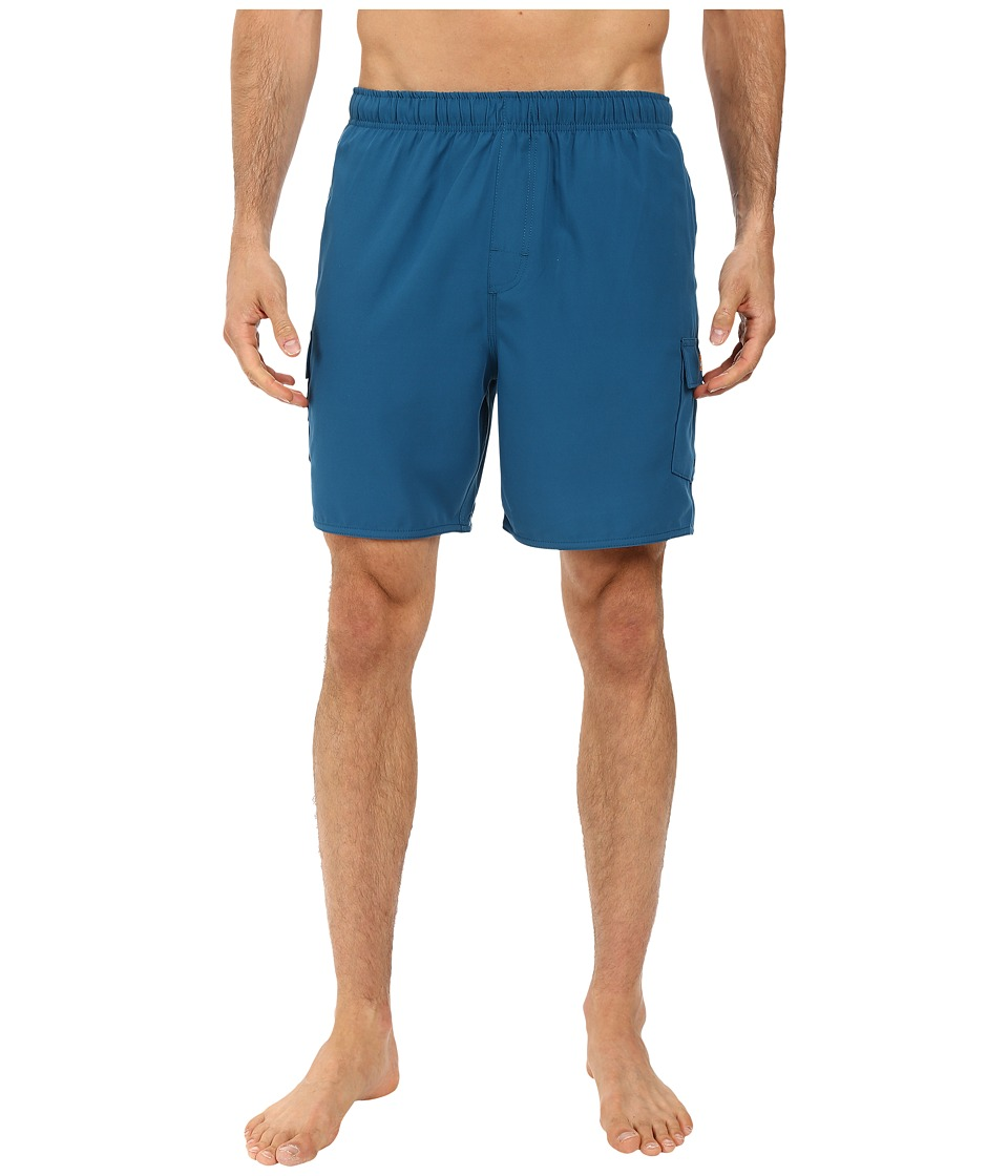 Quiksilver Waterman - Balance 6 Elastic Waist Volley Short (Morocco Blue) Men's Shorts
