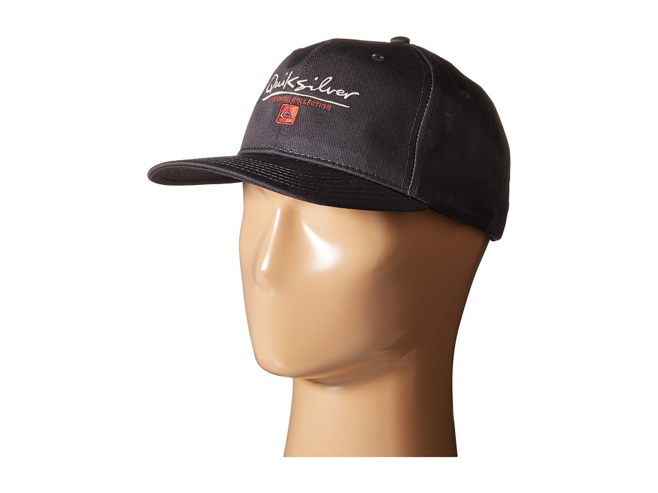 Quiksilver Waterman - Gut Check Cap (Tarmac) Caps