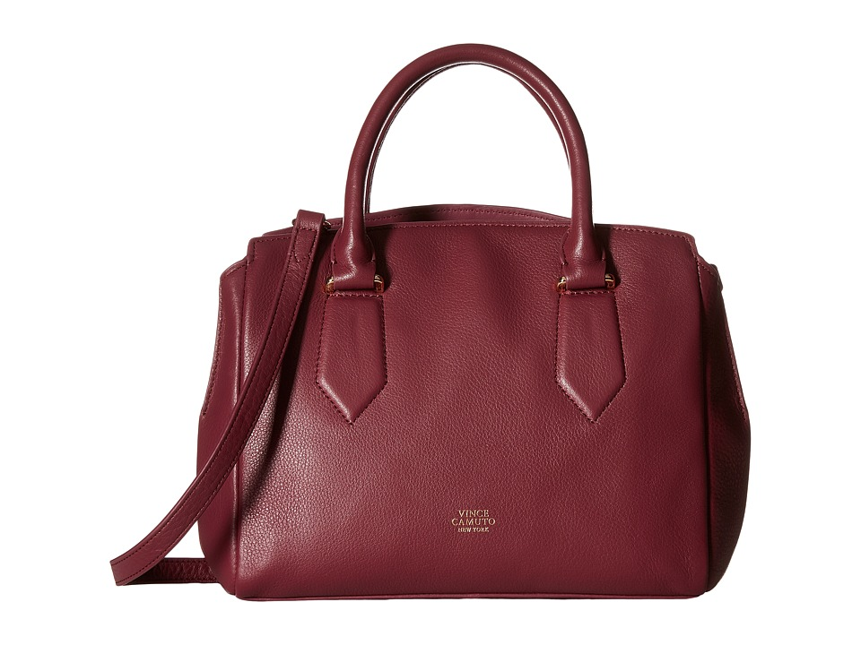 Vince Camuto - Lenix Satchel (Fig Jam) Satchel Handbags