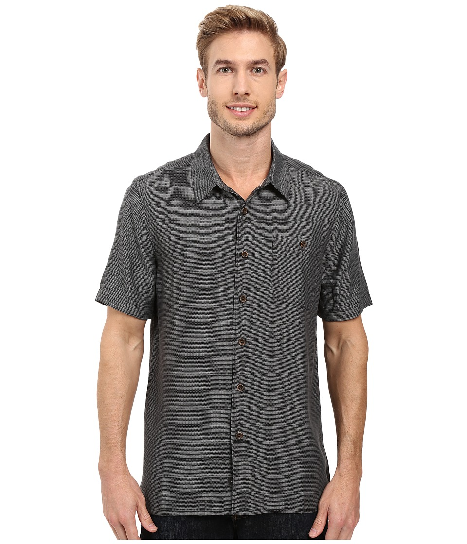 Quiksilver Waterman - Marlin Shirt (Black) Men's Clothing