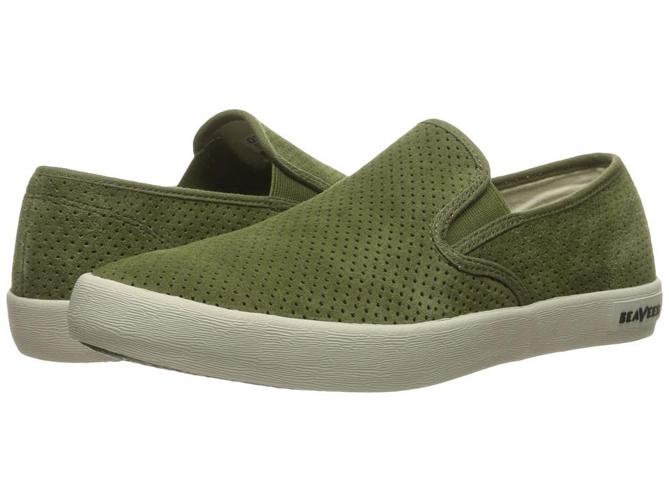 SeaVees - 02/64 Baja Slip-On Varsity (Cypress) Men's Shoes