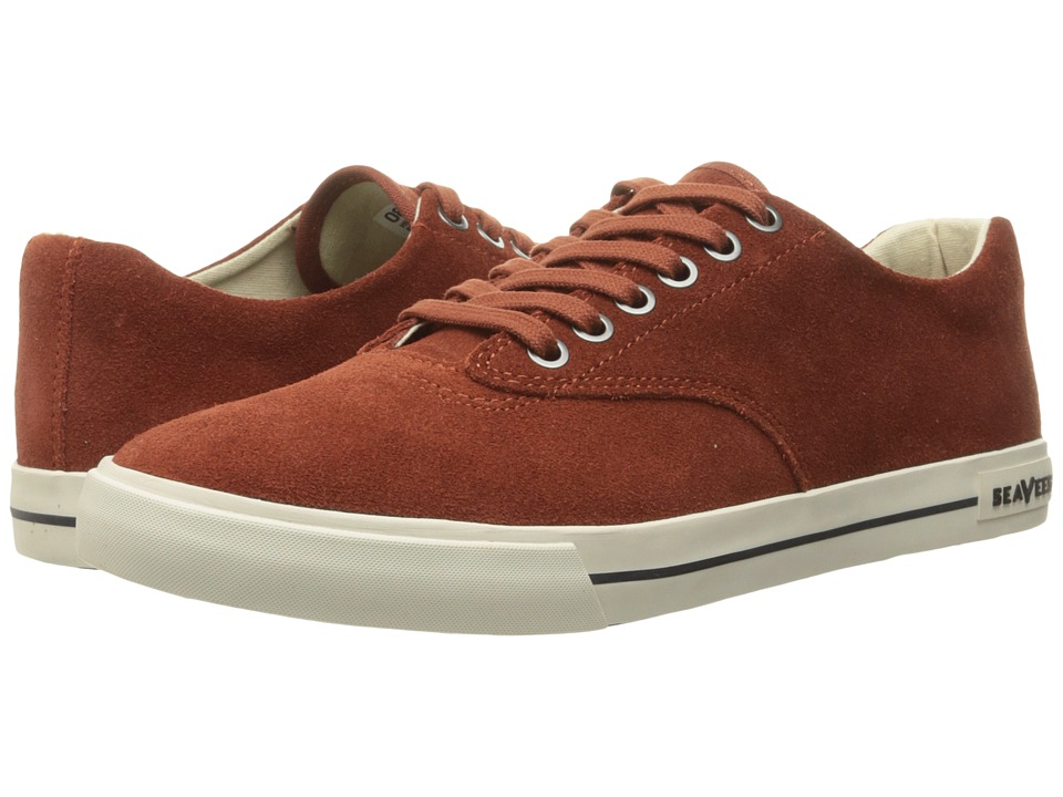 SeaVees - 08/63 Hermosa Varsity (Burnt Henna) Men's Shoes