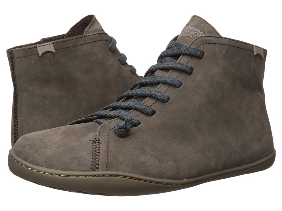 Camper - Peu Cami - 36458 (Dark Brown) Men's Lace-up Boots