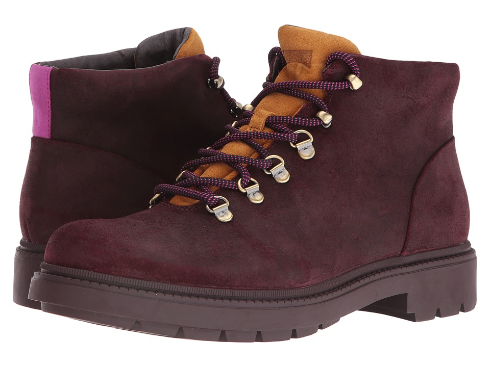 Camper - Hardwood - K300089 (Dark Red) Men's Lace-up Boots