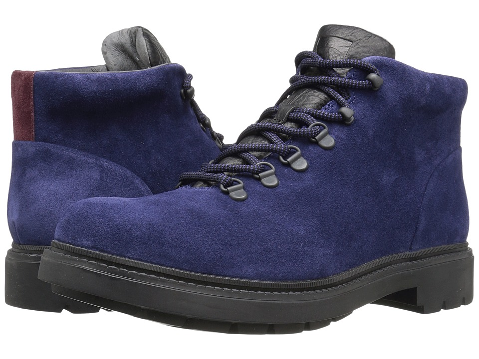 Camper - Hardwood - K300089 (Navy) Men's Lace-up Boots