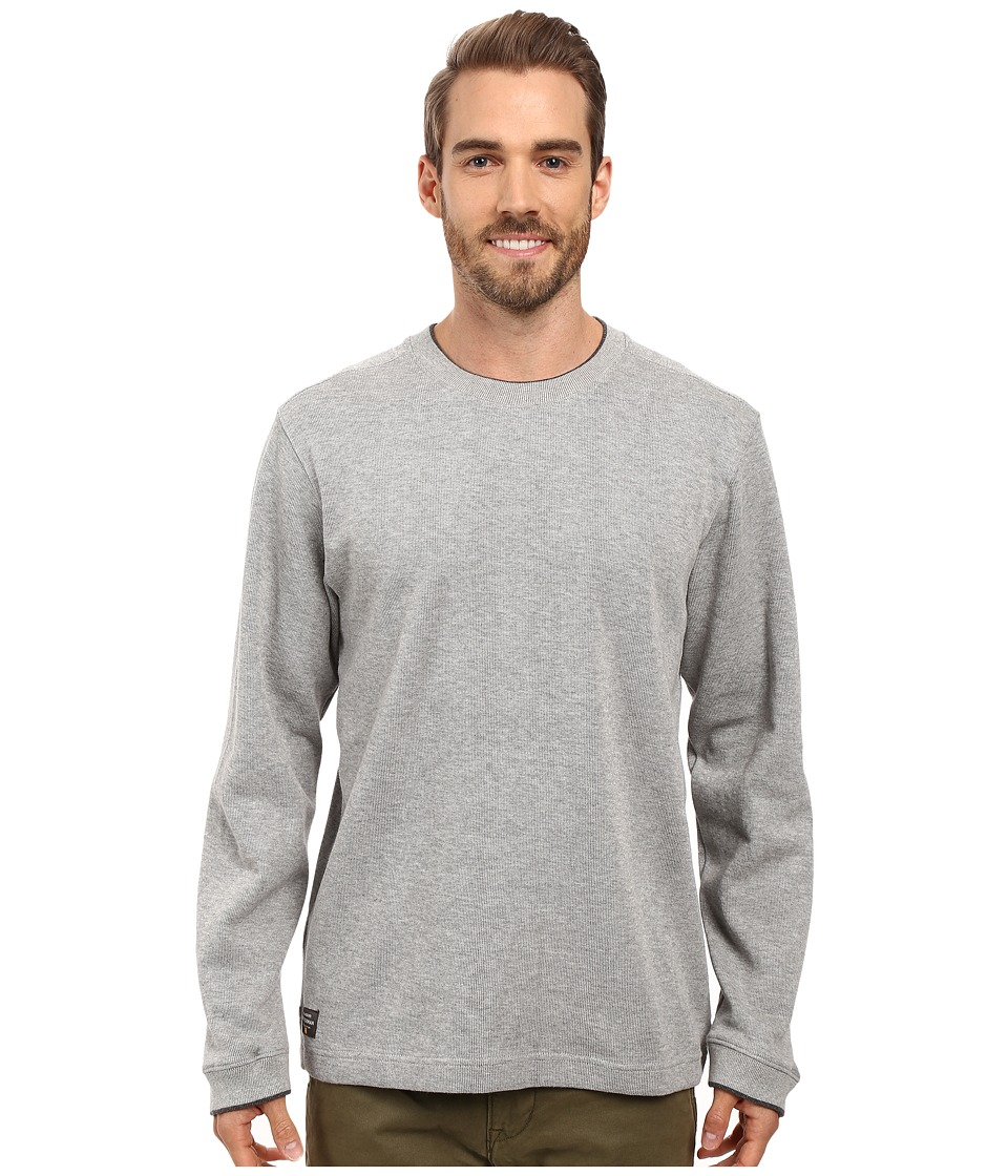Quiksilver Waterman - Rock Lagoon 3 Sweatshirt (Moon Mist) Men's Clothing